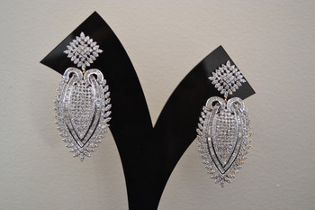 American Diamond Fashion Earrings (JE006)
