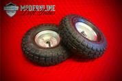 "Basic Drift Trike Wheels 5/8"" Spindle Mount (Silver)"