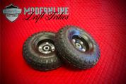 "Basic Drift Trike Wheels 5/8"" Spindle Mount (Black)"
