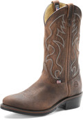 "Men's Double H 3282 12"" Domestic Work Western AG7™ Outsole #3282"