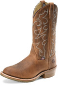 "Men's Double H DYLAN 12"" Domestic Work Western Oak I.C.E.™ Outsole #DH1552"