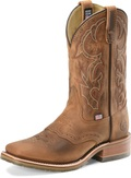 "Men's Double H JASE 11"" Domestic Wide Square Toe Roper Oak I.C.E.™ Outsole #DH3560"