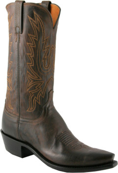 Lucchese 1883 New Leaf Chocolate Burnished Mad Dog Goat N1556