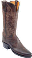 Lucchese 1883 New Leaf Chocolate Burnished Mad Dog Goat N4554