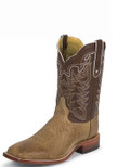 Copy of Tony Lama EXOTIC WESTERN SAN SABA COLLECTION ANTIQUE TAN VINTAGE SMOOTH OSTRICH #O4176