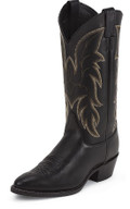 Men's Justin CLASSIC WESTERN Collection BLACK CHESTER #1419