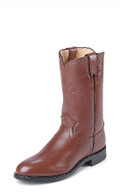 "MEN'S JUSTIN JACKSON ROPER 10"" TAN KIDDIE #3404"