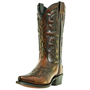 "Men's Laredo 12"" Hawk BURNISHED GOLD #6862"