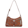 American west Lady Lace Collection Zip top shoulder bag #LCBT285