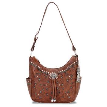 American west Lady Lace Collection Zip-top hobo #LCBT620