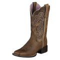 Women's Ariat Boots QUICKDRAW BADLANDS BROWN / WICKER  #10006304