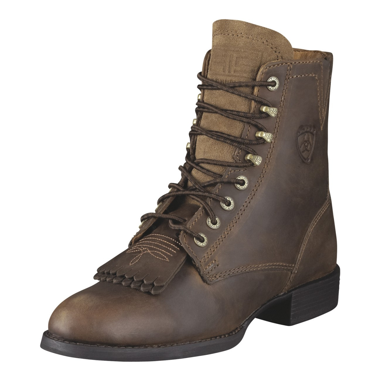 Women\u0027s Ariat Boots HERITAGE LACER DISTRESSED BROWN 10002147 (33505)