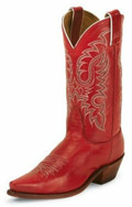 Women's Nocona Rhinestone Red Soft Ice #LD2736