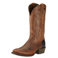 Men's Ariat Boots TROUBADOUR POWDER BROWN #10017359