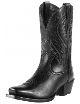 64718650195 Men's Ariat Boots LEGEND PHOENIX BLACK DEERTAN #10010938 - WJ Colt Boots