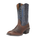 Men's Ariat Boots SPORT OUTFITTER FIDDLE BROWN/ARIZONA SKY #10015300