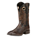 Men's Ariat Boots SPORT RIDER WIDE SQUARE TOE CHOCOLATE/BLACK #10017387