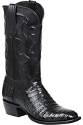 MEN'S LUCCHESE CHARLES BLACK CAIMAN BELLY #M1636.14