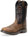 "Men's Double H ISAAC 12"" Wide Square Composite Safety Toe Roper WorkFlex MAX Outsole #DH5130"