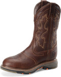 "Men's Double H EDGAR 12"" U Toe Composite Safety Toe Roper WorkFlex MAX Outsole #DH5133"