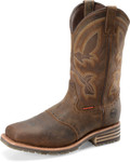 "Men's Double H JEYDEN  11"" Wide Square Composite SafetyToe Roper Mini Lug I.C.E™ Outsole #DH5124"