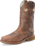 "Men's Double H ANTONIO 13"" Wide Square Toe Roper Aeroglide Outsole #DH5134"