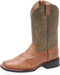 "Men's Double H GABRIEL 11"" Wide Square Toe Roper Fine Line/Mini Rib Outsole #DH3571"