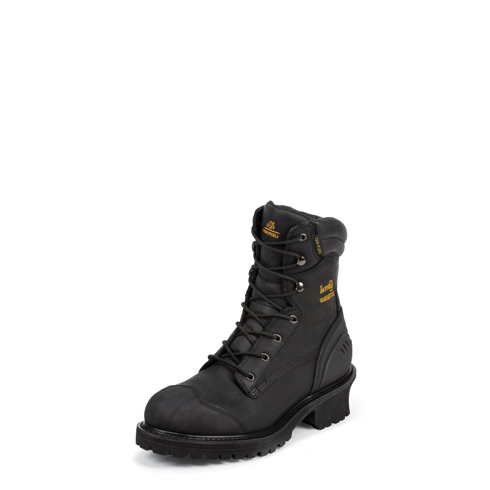 069e5b914c1d MEN S CHIPPEWA ALDARION BLACK 8