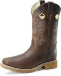 "Men's Double H RUBERT 12"" Wide Square Composite Safety Toe Roper Aeroglide Outsole #DH5245"