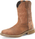 "Men's Double H JACOB 10"" Waterproof Wide Square Comp Toe Roper Aeroglide Outsole #DH5143"
