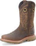 "Men's Double H ELIJAH 12"" Workflex MAX Wide Square Composite Safety Toe Work Western #DH5241"