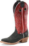 "Men's Double H AADEN 13"" Domestic U-Toe Buckaroo #DH7510"