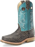 "Men's Double H DEAN 12"" Domestic Wide Square Composite Safety Toe Roper Oak I.C.E.™ Outsole #DH3569"