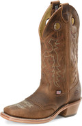 "Men's Double H ALLEN 13"" Domestic Wide Square Buckaroo Leather I.C.E.™ Outsole  #DH7508"