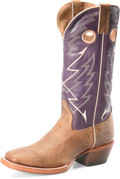"Men's Double H ODELL 13"" Wide Square Buckaroo Leather Outsole  #DH7007"