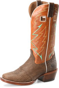 """Men's Double H OCTAVIUS 13"""" Wide Square Buckaroo Leather Outsole  #DH7006"""