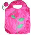 Nylon Foldable Bag With Rose Design