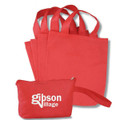 Non Woven PP Cosmetic Fabric Bags  -With Handle