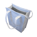 Non Woven Cooler Bag With Top Zip Closure NWB015