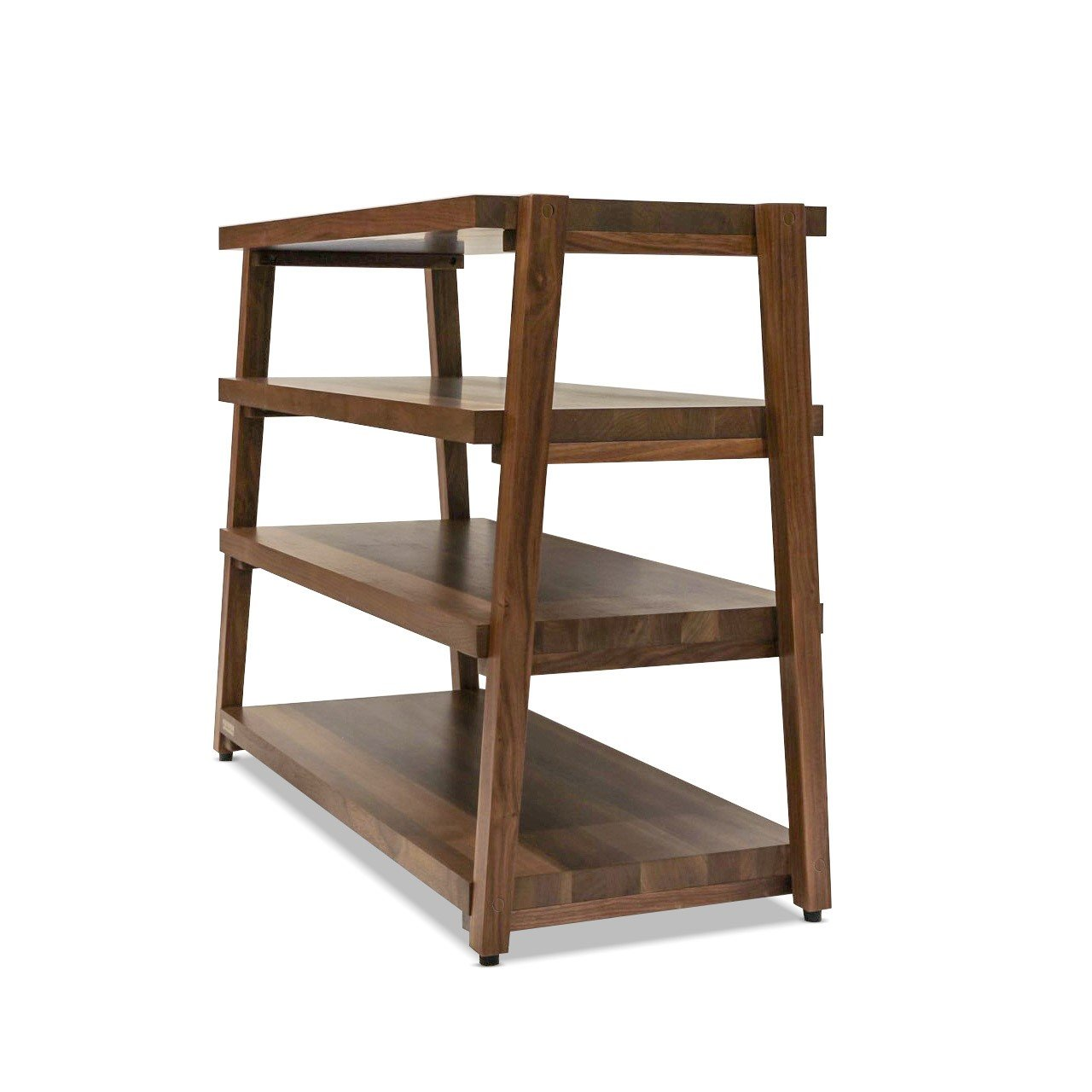 rigidrack 4 shelf walnut