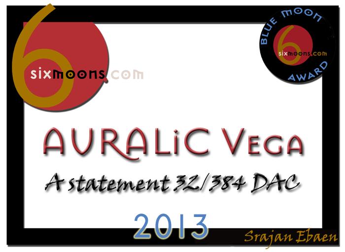 Auralic Vega DAC Award