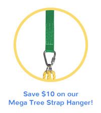 Mega Tree Strap Swing Hanger
