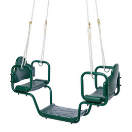 Classic Face-to-Face Glider Swing