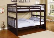 #45207- Full Full Bunk Bed