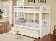 #45179 - Arthur Twin/Twin Bunkbed w/ Trundle & Drawer