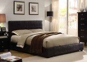 #45108 Faux Leather Contemporary Bed