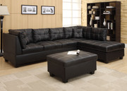 #80431 Contemporary Sectional with Storage Ottoman
