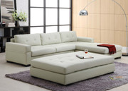 #80449 Contemporary Sectional with Ottoman