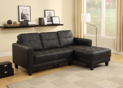 #80430 Contemporary Sectional with Chaise