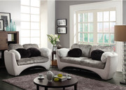 #80536-Beverly Contemporary Sofa & Love set